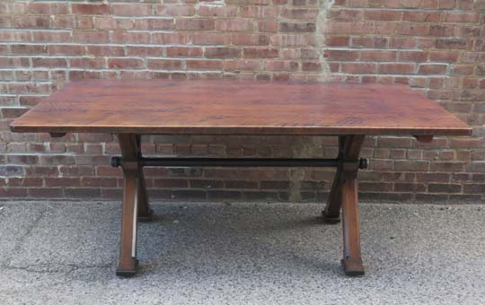 imgCustom Cherry Mill Table