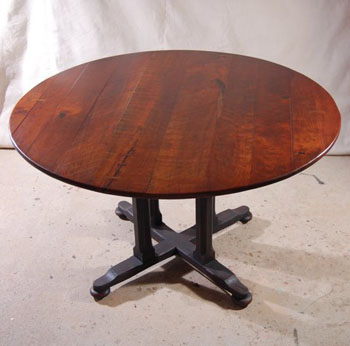 img Custom Round Cherry Tables